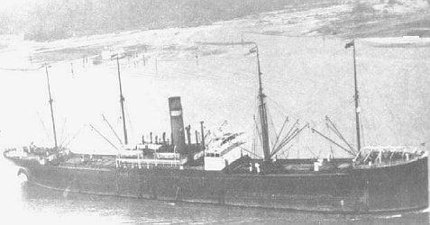 Holland Amerika SS Eemdijk
