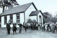 Closing ceremony in 1949