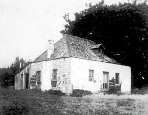 Blinkhorn Farmhouse, first settler's dwelling in Metchosin.